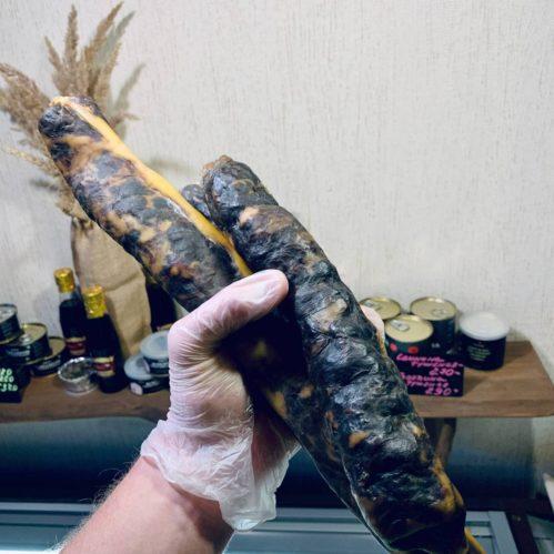 Колбаса из конины в натуральной оболочке