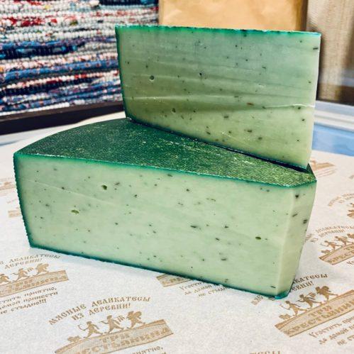 Сыр Неро Верде (Базилик)